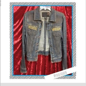 ROCAWEAR SUPER CUTE DENIM JACKET